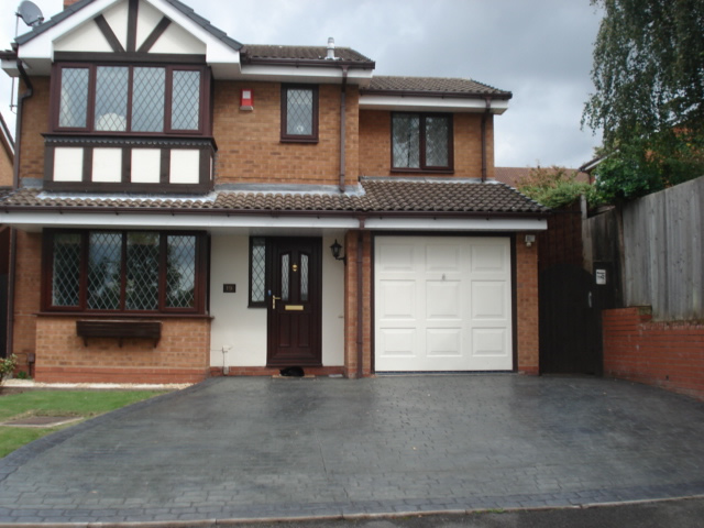 driveway services in telford - artprint concrete - based in Shropshire