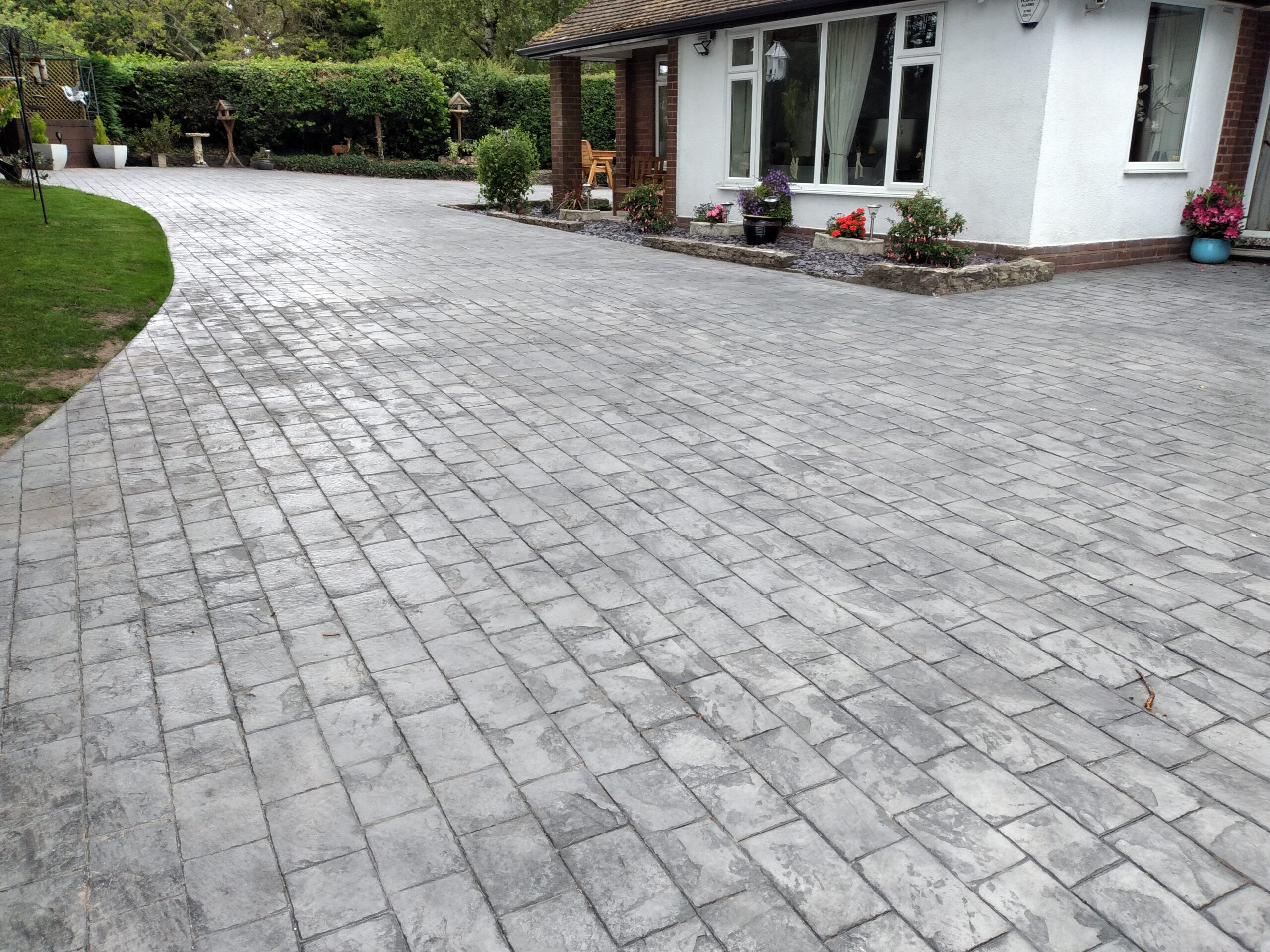 driveways telford - artprint concrete - based in Shropshire